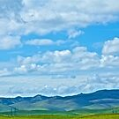 Foothills and Big Sky by John Butler