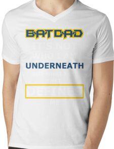 Batdad - What Defines Me Mens V-Neck T-Shirt