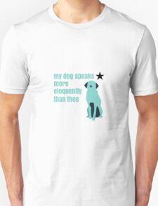 Hamilton Farmer Refuted Dog Quote Unisex T-Shirt