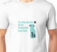 Hamilton Farmer Refuted Dog Quote Unisex T-Shirt