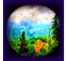 Wonderful new planet for him.... Photographic Print