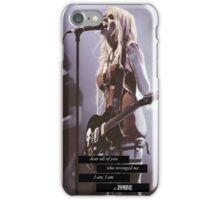 I am a zombie  iPhone Case/Skin