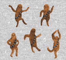 Wookie Dance Party Kids Tee