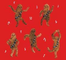 Wookie Dance Party Kids Tee