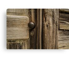 Vintage Door Canvas Print