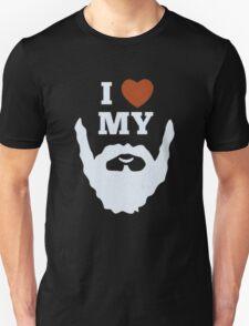 Funny I Heart Love My Beard T-Shirt