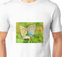 Butterflies mating Unisex T-Shirt