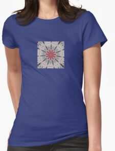 Our Tune Abstract Womens Fitted T-Shirt