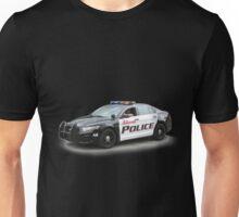 Police Car #1 Unisex T-Shirt