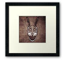 Vintage Frank (Donnie Darko) Framed Print