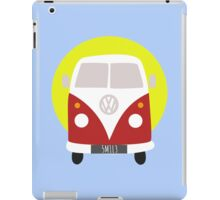 VW Campervan Red iPad Case/Skin