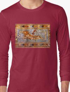 Minoan Times - Dancing with the bulls Long Sleeve T-Shirt
