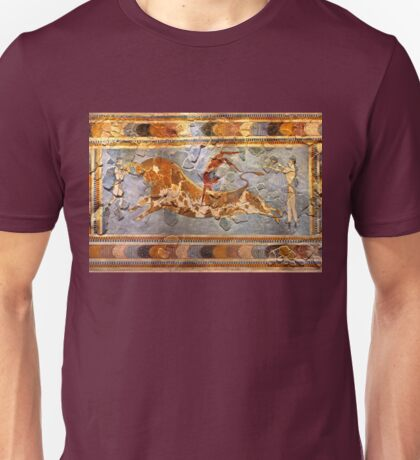 Minoan Times - Dancing with the bulls Unisex T-Shirt