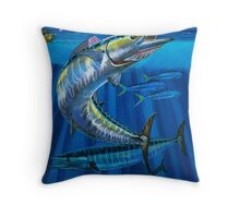 Wahoo Haven Throw Pillow