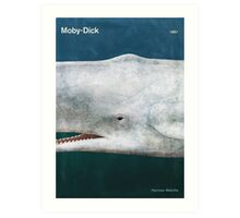 Herman Melville - Moby-Dick Art Print