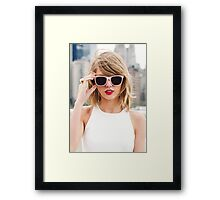 Cool Taylor Swift by safma Framed Print