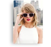 Cool Taylor Swift by safma Canvas Print