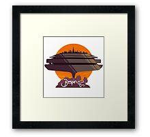 Bespin: Cloud City Framed Print