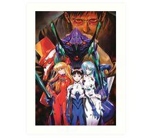 Neon Genesis Evangelion Art Print