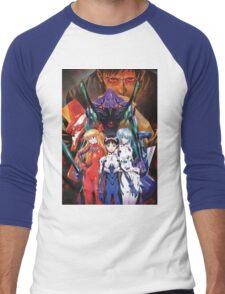 Neon Genesis Evangelion Men's Baseball ¾ T-Shirt