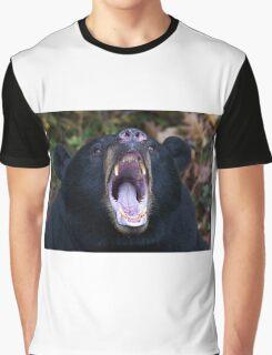 """I am not Yogi!!!"" - Black Bear Graphic T-Shirt"