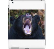 """I am not Yogi!!!"" - Black Bear iPad Case/Skin"