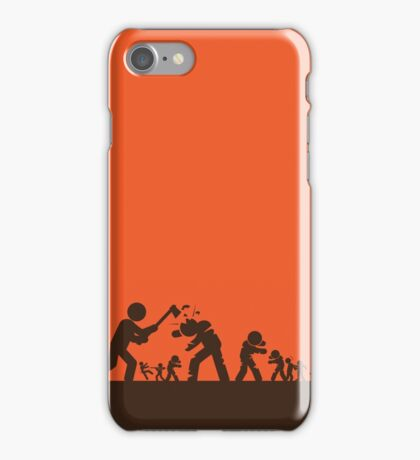 Zombie - Survival iPhone Case/Skin