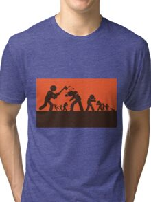 Zombie - Survival Tri-blend T-Shirt