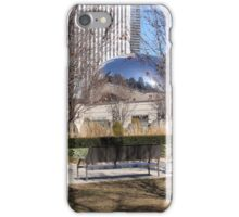 Millennium Park in Winter iPhone Case/Skin