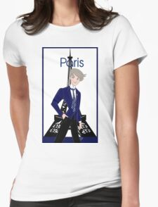 Paris for Him Womens Fitted T-Shirt