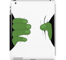 Grabbed by the Hulk iPad Case/Skin
