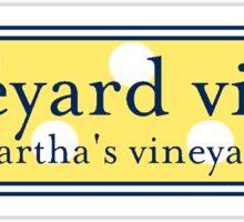 Vineyard Vines Logo Sticker