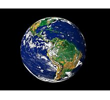Full Earth showing South America. Photographic Print