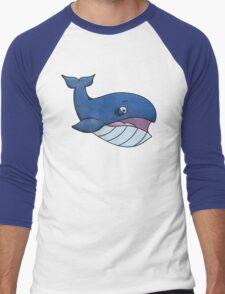 Worried Whale Men's Baseball ¾ T-Shirt