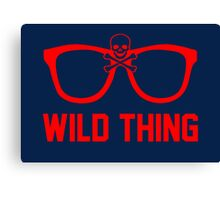 Wild Thing - For The Major League Indians Fan! Canvas Print