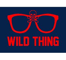 Wild Thing - For The Major League Indians Fan! Photographic Print