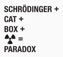 Schrödinger Paradox engl. Kids Tee