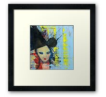 Bjork - Painting by William Wright Framed Print