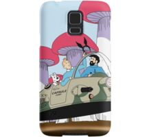 Tintin is going to visit the rabbit mob Samsung Galaxy Case/Skin