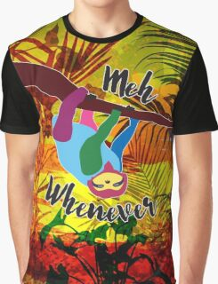 Whenever Sloth Graphic T-Shirt