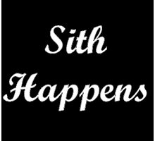 Sith Happens Star Wars S Photographic Print