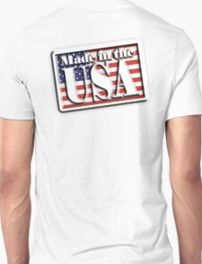 AMERICA, Stars and Stripes, Made in the USA, Flag, Manufactured in America, USA, American, American T-Shirt