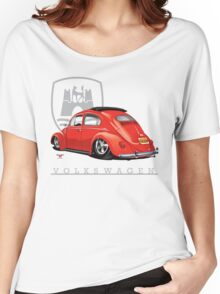 Oval Ragtop Bug Women's Relaxed Fit T-Shirt