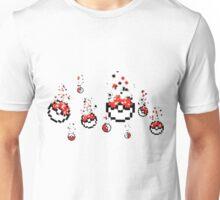 Pokeballs, Pokefalls Unisex T-Shirt