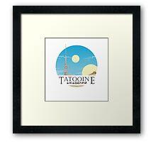 Tatooine Framed Print