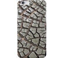 Mud crack iPhone Case/Skin