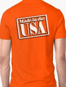 AMERICA, Made in the USA, Manufactured in America, American, Navy, Blue T-Shirt