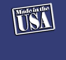 AMERICA, Made in the USA, Manufactured in America, American, Navy, Blue Unisex T-Shirt