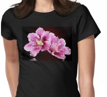 Clematis  Womens Fitted T-Shirt