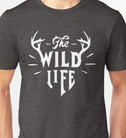 The Wild Life - version 1 - White Unisex T-Shirt